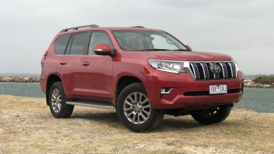 2020 Toyota LandCruiser Prado Kakadu 'flat back' review