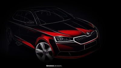 Skoda Teases Upcoming Fabia