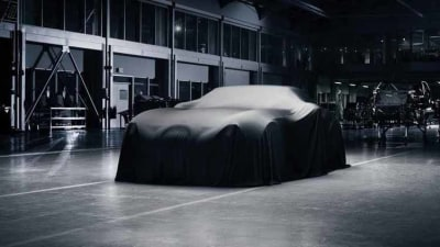 Wiesmann 'Project Gecko' teased with BMW power
