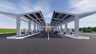 First 'charging station' starts construction in the UK