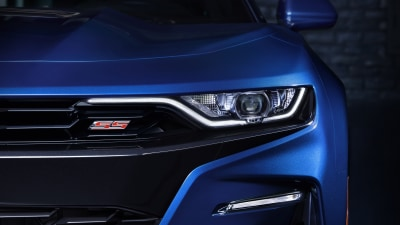 Refreshed Chevrolet Camaro revealed