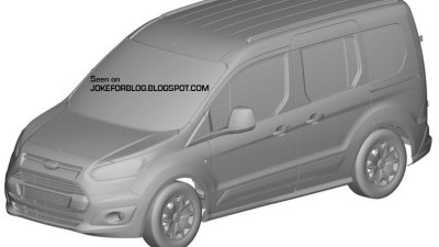 2013 Ford Transit Connect Revealed In New Patent Images