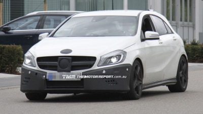 Mercedes A-Class AMG Hot Hatch Spied Testing
