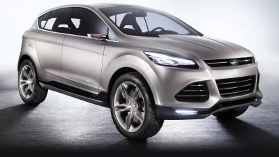 Ford Vertrek Concept Previews New Small SUV