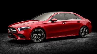 Mercedes-Benz A-Class sedan revealed