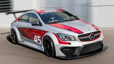 Mercedes-Benz CLA 45 AMG Racing Concept Set For Frankfurt