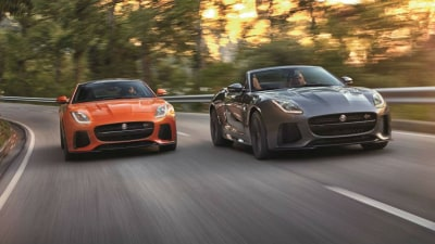 Jaguar F-Type Facelift Prototype Outed As New Four-Cylinder Entry Model