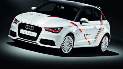 Audi Adds Olympic Flair To A1 E-Tron