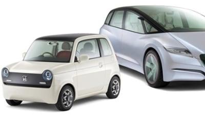 Honda N600-Inspired EV-N Concept And Skydeck Hybrid Concept: Tokyo Motor Show