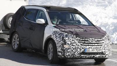 2013 Hyundai Santa Fe Set For New York Debut: Report