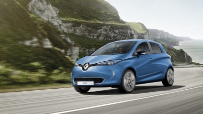 Renault's electric hatch hits the showroom