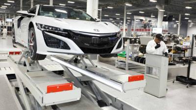Honda NSX - Right-Hand-Drive Production Begins Ahead Of Australian Arrival