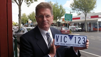 Victorian Number Plates To Feature Road Safety Message