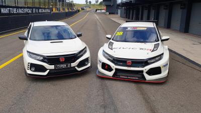 Head-to-head: Honda Civic Type-R v Honda Civic TCR