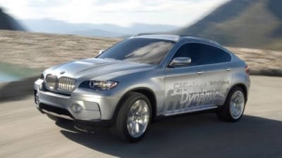 BMW X6 To Get Hybrid Power, First Performance Details Revealed
