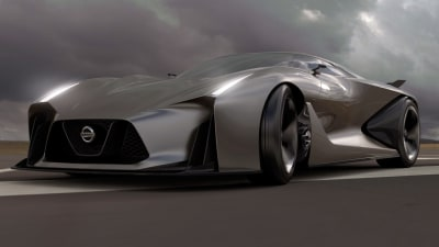 Nissan Concept 2020 Vision GT Revealed: Future GT-R Looms