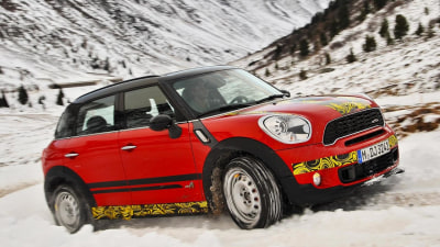 2012 MINI Countryman JCW Official Teaser Images