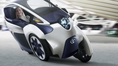 Toyota i-Road City Concept Revealed Ahead Of Geneva
