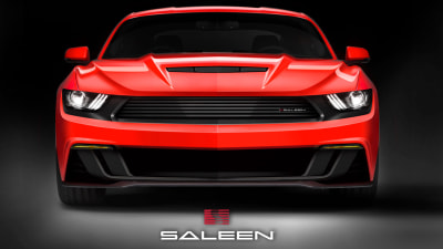 Saleen Teases Souped-Up 'Stang