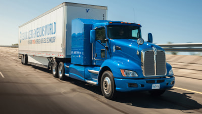 Toyota Joins Zero Emissions Haulage Race With Hydrogen Fuel Cell Truck