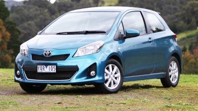 2012 Toyota Yaris Review