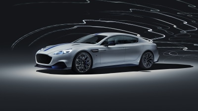 Aston Martin reveals electric limousine