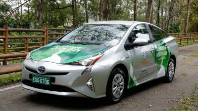 Toyota reveals new ethanol hybrid