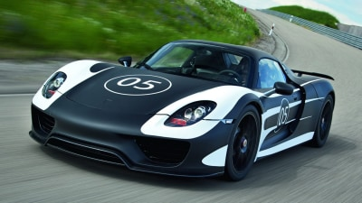 Porsche 918 Detailed Further As Prototype Comes Into The Light