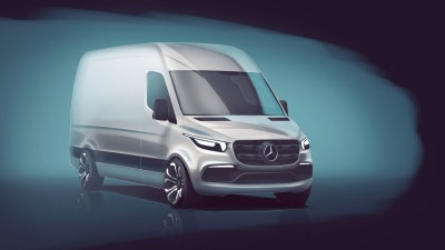 Mercedes-Benz Previews Next Generation Sprinter Van