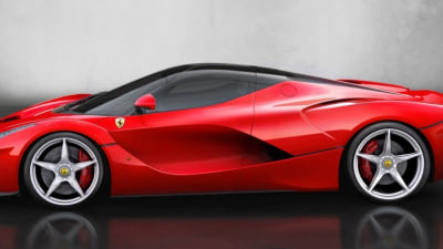 Ferrari LaFerrari First To Be Designed Entirely In-House