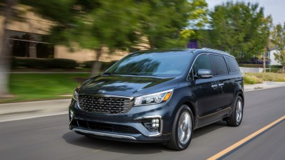 Kia's big people mover gets a facelift