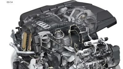 Audi Reveals New 3.0 V6 Turbo-Diesel Engine And S-tronic Transmission