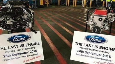 Ford Australia Engine Plant Goes Out With A Whimper