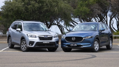 Mazda CX-5 Maxx AWD v Subaru Forester 2.5i-L head-to-head