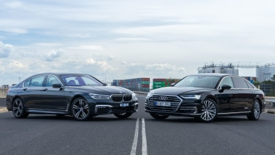 Audi A8L versus BMW 740Li Head to Head Review