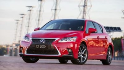 Lexus CT200h car pool