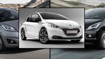 Peugeot 5008 And 3008 Facelifted; 208 Hybrid FE Bound For Frankfurt
