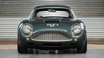 Cheque Books Away: Rare Retro-build Aston Zagato Fetches $1.9 Million