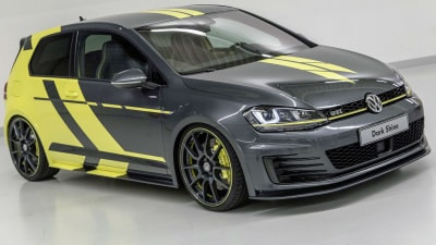 VW Apprentices Unveil Golf 'Dark Shine' Hatch, Wagon Biturbo Concepts