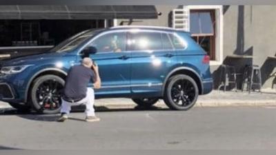2020 Volkswagen Tiguan facelift spotted