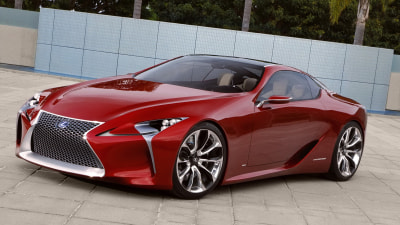Lexus LF-LC Makes Detroit Debut