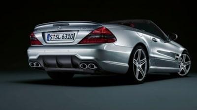 Mercedes Benz release SL facelift teaser