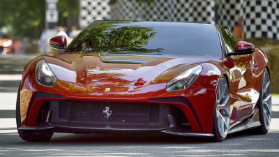 Ferrari F12 TRS Special Revealed Further At Goodwood Festival Of Speed