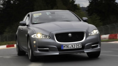 Jaguar XJ Upgraded To 'Ring Taxi