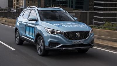 2021 MG ZS EV in Australia from November/December