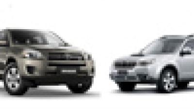 Head to Head: Toyota Rav 4 CV6 v Subaru Forester XT