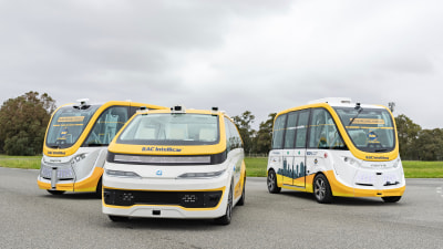 Autonomous taxi trials to begin in Oz
