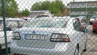 2008 Saab Aero spy photos