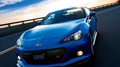 Subaru BRZ tS Surfaces, Not A Turbo In Sight