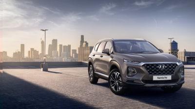 First Official Look: Hyundai Santa Fe